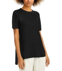 eileen fisher high-low tunic sweater