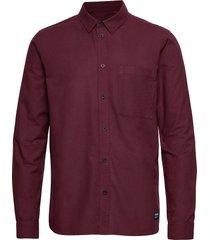 dale shirt skjorta casual röd dr. denim