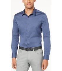 calvin klein men's stretch cotton shirt
