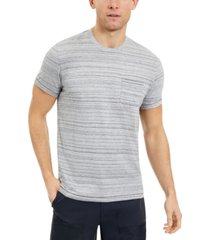 sun + stone men's striped pocket t-shirt, created for macy's