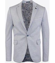 blazer gabbiano denim 2660 blazer light blue