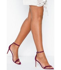 nly shoes heel sandal high heel lila