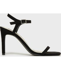 nly shoes square heel sandal high heel