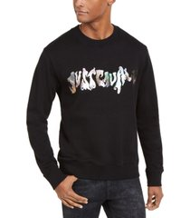 just cavalli men's logo sweatshirt
