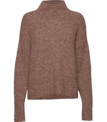 maville knit t-neck turtleneck coltrui bruin second female