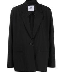 opening ceremony slouchy blazer - black
