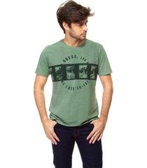 t-shirt filme fotos guess - verde - masculino - dafiti