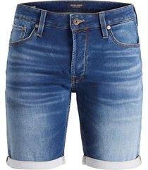 jack & jones jeans short 12166269 006 - denim