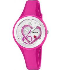 reloj k5751/3 multicolor calypso mujer trendy