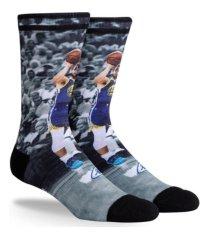 parkway men's golden state warriors pop player crew socks