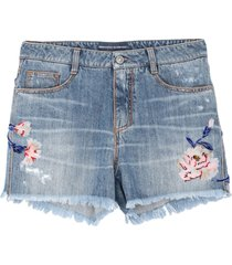 ermanno scervino denim shorts