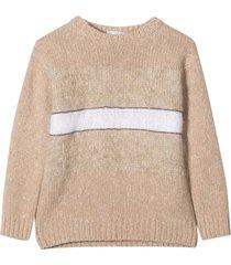 brunello cucinelli beige sweater