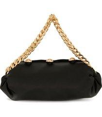 0711 small nino tote bag - black