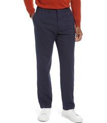 men's nn07 foss pinstripe stretch pants, size 3432 - blue