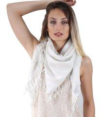 pañuelo blanco spiga 31