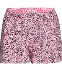 woven short print shorts röd tommy hilfiger