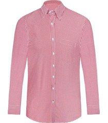 camisa casual manga larga a cuadros slim fit para hombre 92703