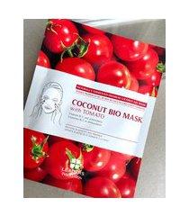 amaro feminino leaders insolution coconut bio mask - 1 máscara facial, tomato