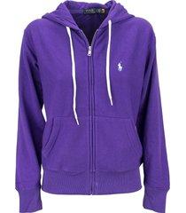 ralph lauren fleece full-zip hoodie