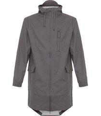 rains smoke parka coat 1233-48