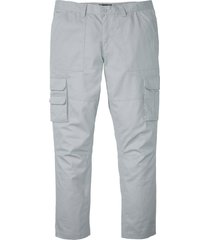 pantalone cargo regular fit straight (grigio) - bpc selection