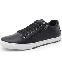 sapatenis sandalo vintage black - preto - masculino - dafiti