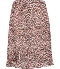 virginia skirt knälång kjol brun just female