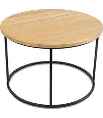 stolik kawowy loft 70 cm jasny dąb