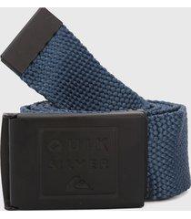 cinturón azul-negro quiksilver cincha principal