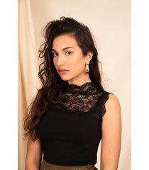 femme9 shirt / top zwart jax
