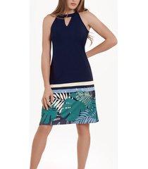 korte jurk lisca mouwloze zomerjurk tahiti