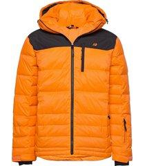 selvågen down jacket outerwear sport jackets oranje skogstad