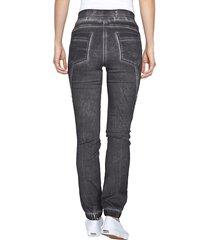 jeans paola silverfärgad