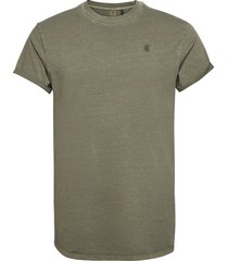 lash r t s\s t-shirts short-sleeved grön g-star raw