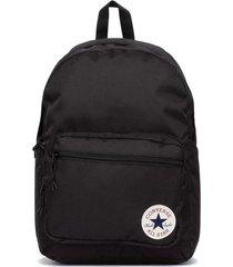 mochila negra converse go 2 backpack