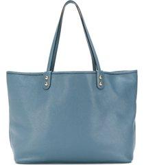 etro reversible shopper tote - blue