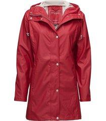 raincoat regenkleding rood ilse jacobsen