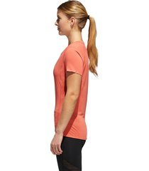camiseta manga corta de mujer para correr adidas fr sn ss tee w