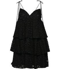 lanna by nbs kort klänning svart custommade