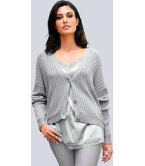 vest alba moda grijs