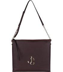 jimmy choo varenne leather crossbody bag
