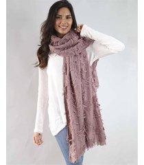 bufanda rosa spiga 31