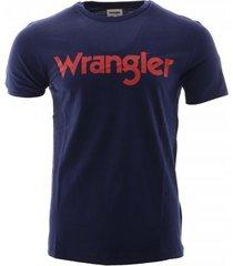 t-shirt korte mouw wrangler -