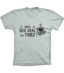camiseta baby look lu geek big deal prata