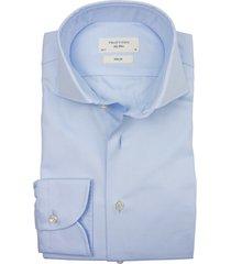 business shirt profuomo slim fit blue ml7