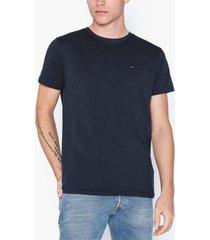 tommy jeans tjm original jersey tee t-shirts & linnen blå
