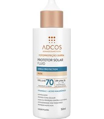 protetor solar adcos fluid shield protection nude