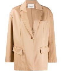 barena loose-fit blazer - neutrals