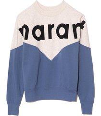 houston sweatshirt in blue