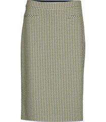 skirt short woven fa knälång kjol multi/mönstrad gerry weber edition